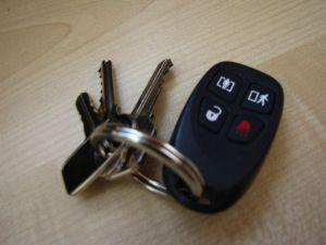 The offending set of keys. Argh!